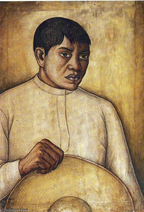无 (9842) 通过 Diego Rivera (1886-1957, Mexico)