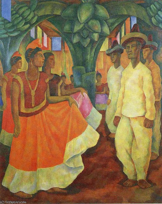 无 (13) 通过 Diego Rivera (1886-1957, Mexico)