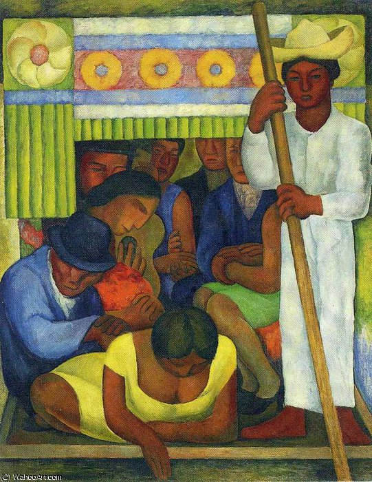 无 (5643) 通过 Diego Rivera (1886-1957, Mexico)