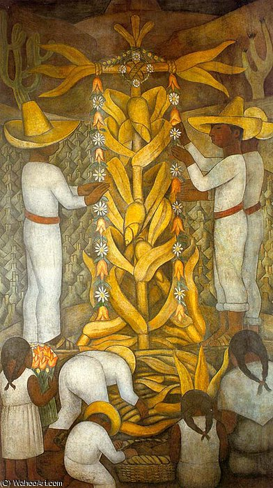 无 (2301) 通过 Diego Rivera (1886-1957, Mexico)