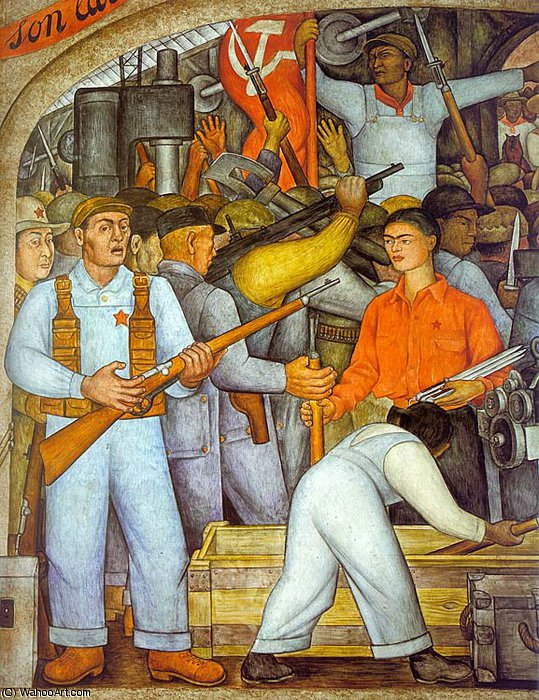 无 (9657) 通过 Diego Rivera (1886-1957, Mexico)