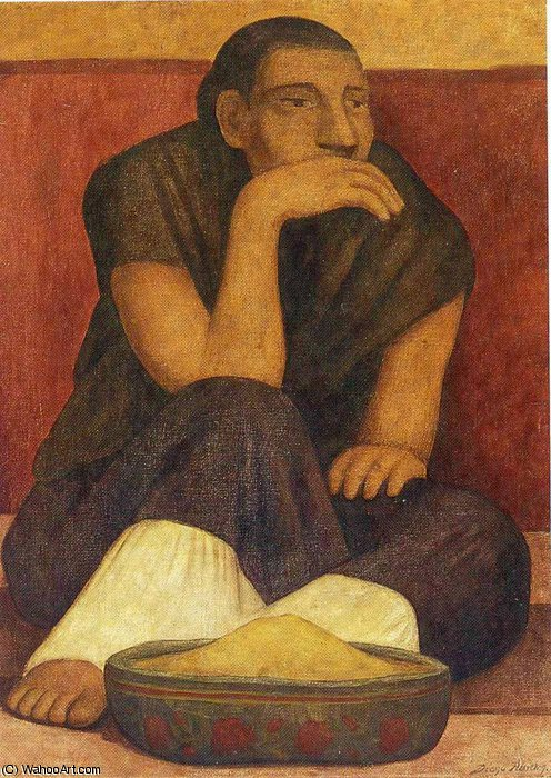 无 (3144) 通过 Diego Rivera (1886-1957, Mexico)