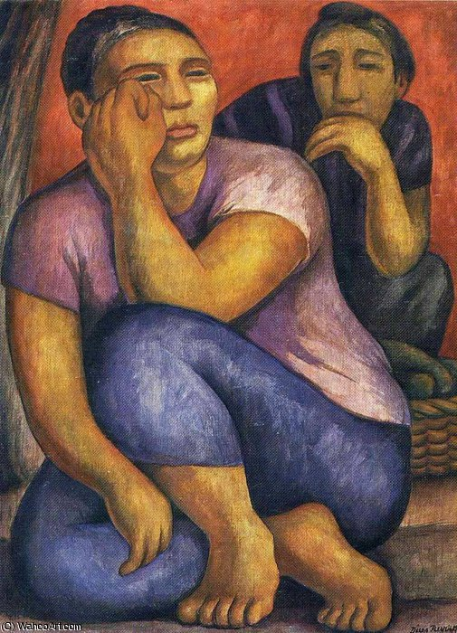 无 (1630) 通过 Diego Rivera (1886-1957, Mexico)