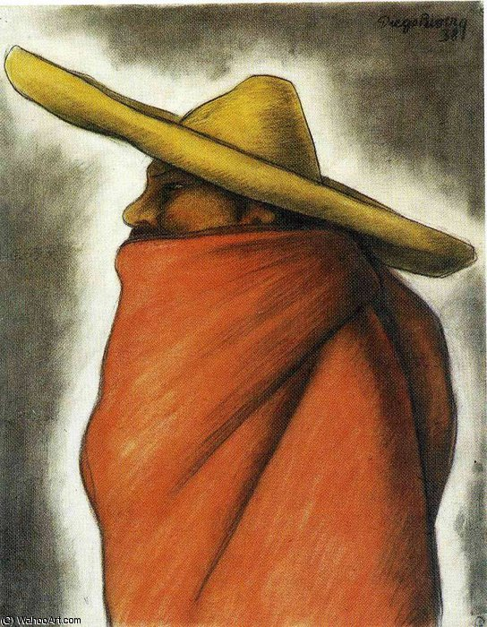 无 (9215) 通过 Diego Rivera (1886-1957, Mexico)