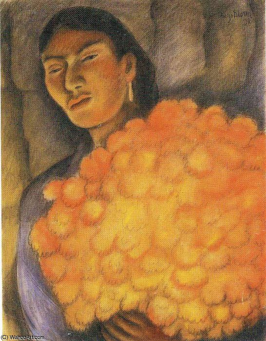 无 (9259) 通过 Diego Rivera (1886-1957, Mexico)