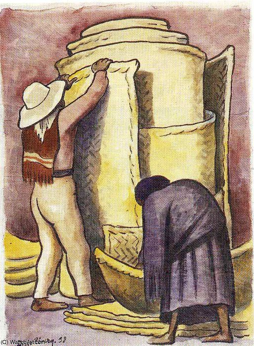 无 (3116) 通过 Diego Rivera (1886-1957, Mexico)