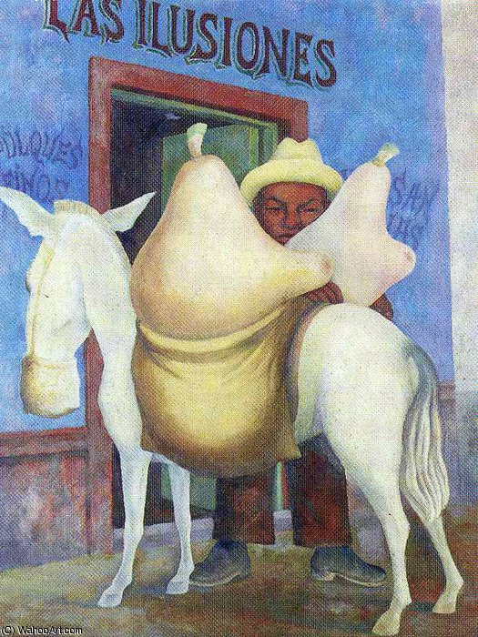 无 (5798) 通过 Diego Rivera (1886-1957, Mexico)