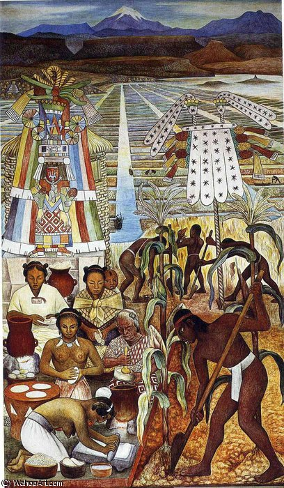 无 (2871) 通过 Diego Rivera (1886-1957, Mexico)