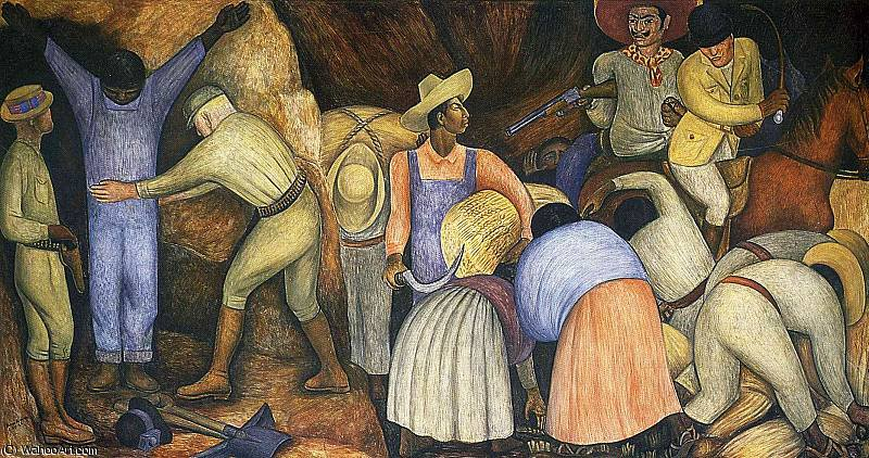 无 (3830) 通过 Diego Rivera (1886-1957, Mexico)