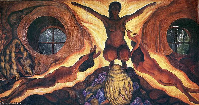 无 (4155) 通过 Diego Rivera (1886-1957, Mexico)
