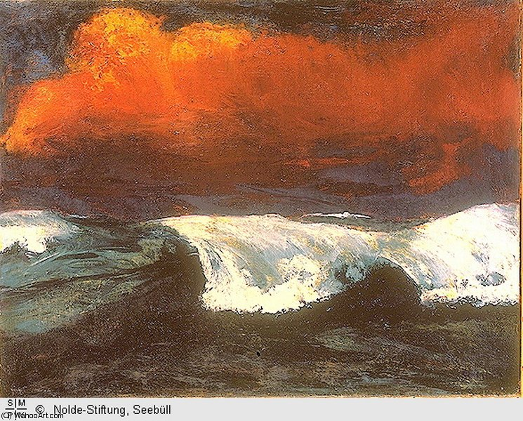 无 3444   通过 Emile Nolde (1867-1956, Germany)