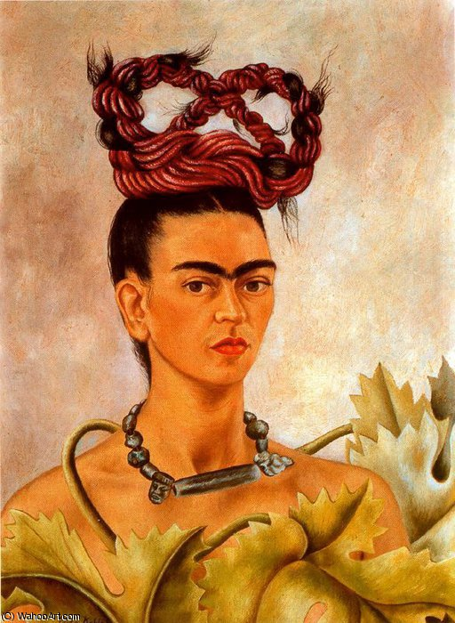 无 3671   通过 Frida Kahlo (1907-1954, Mexico)