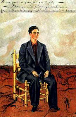无 (5405) 通过 Frida Kahlo (1907-1954, Mexico)
