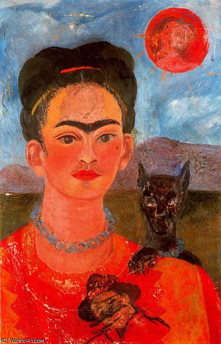 无 2539   通过 Frida Kahlo (1907-1954, Mexico)