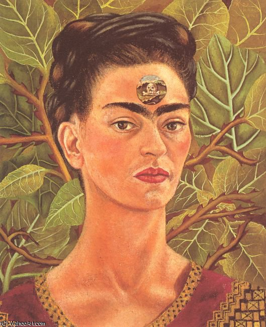 无 7072   通过 Frida Kahlo (1907-1954, Mexico)