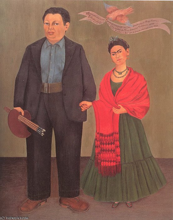 无 4915   通过 Frida Kahlo (1907-1954, Mexico)