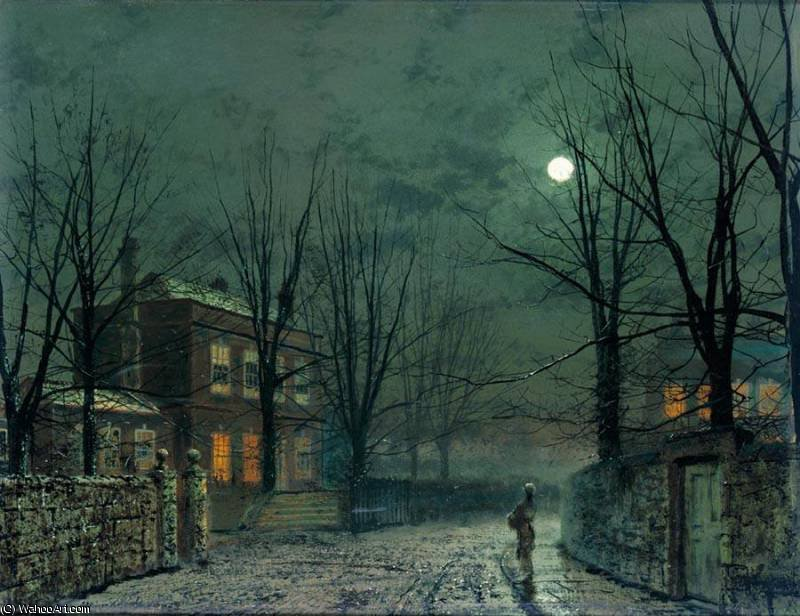 无 (3409) 通过 John Atkinson Grimshaw (1836-1893, United Kingdom)
