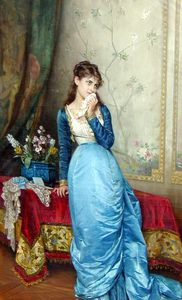 Auguste Toulmouche - 八月的信
