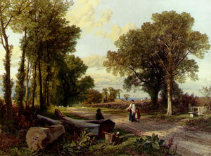 Frederick William Hulme - 路边谈话