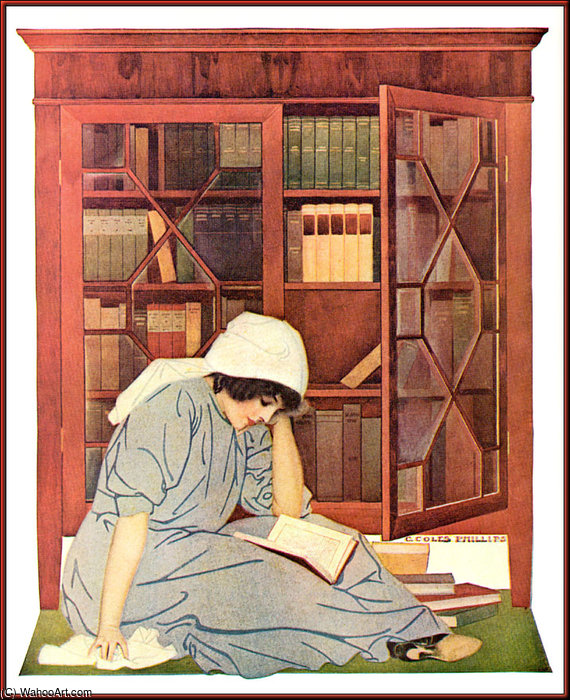 无题(945) 通过 Coles Phillips (1880-1927, United States)