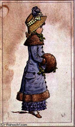 星期日 最好的 通过 Kate Greenaway (1846-1901, United Kingdom) | ArtsDot.com