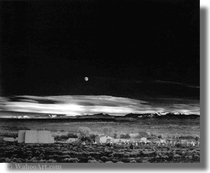 无题(238) 通过 Ansel Adams (1902-1984, United States)