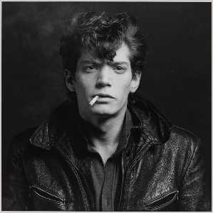 Robert Mapplethorpe - 自画像