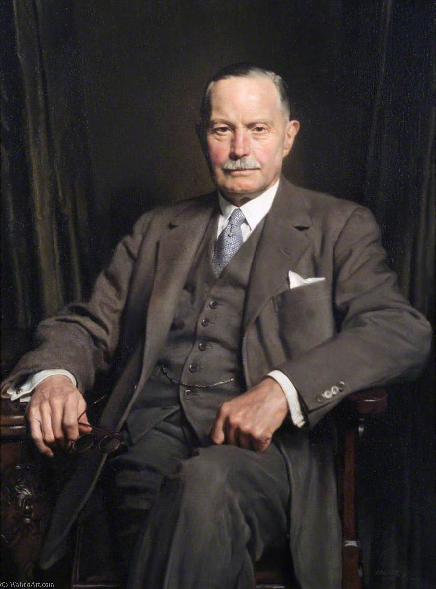 顺序 傑作拷貝 : 阿瑟 惠氏  1875–1972  , 1948 通过 David Jagger (1891-1958, United Kingdom) | ArtsDot.com