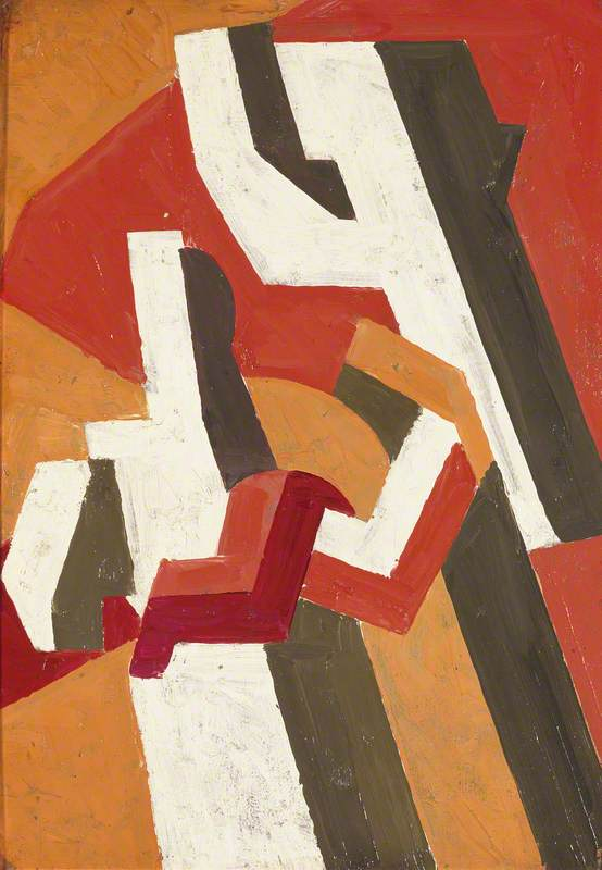 图 作文, 1913 通过 David Garshen Bomberg (1890-1957, United Kingdom) | 畫再現 | ArtsDot.com