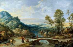 Joos De Momper The Younger - 风景