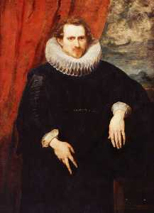 Anthony Van Dyck - 一个人的肖像
