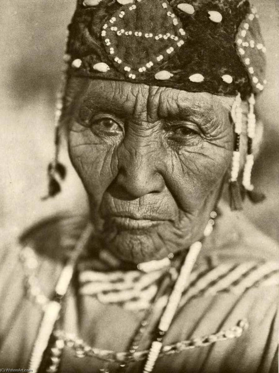 , 1923 通过 Edward Sheriff Curtis (1868-1952, United States) | 傑作拷貝 | ArtsDot.com
